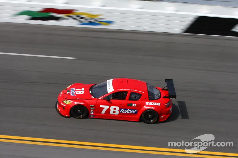 #78 Racers Edge Motorsports Under Armour Mazda RX-8: Rudy Camarillo, Martin Fuentes, Carlos Peralta,