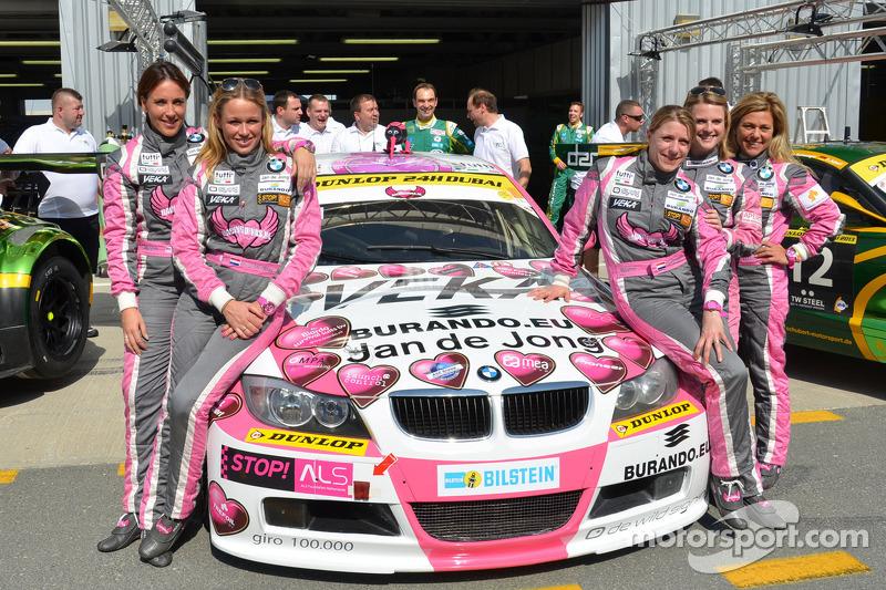The Racing Divas will race for Team Schubert BMW