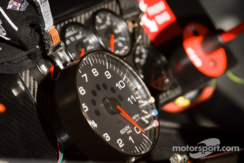 Instrument panel for Danica Patrick, Stewart Haas Racing Chevrolet