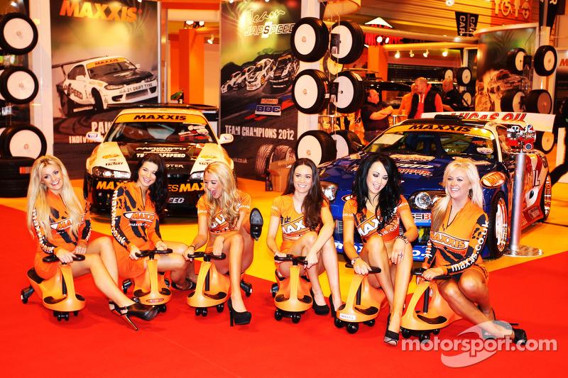 Maxxis Girls At Autosport International Show Birmingham Nec
