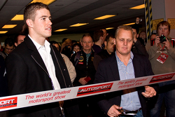 Johnny Herbert and Paul Di Resta open the 2013 Autosport International Show