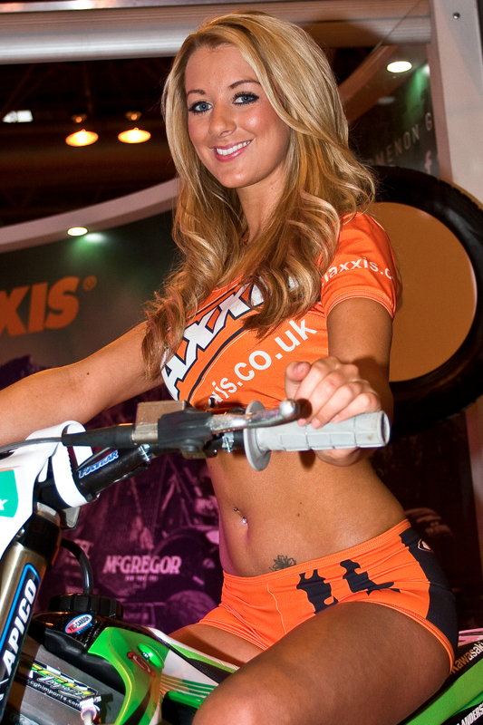 Maxxis Girl At Autosport International Show Birmingham Nec