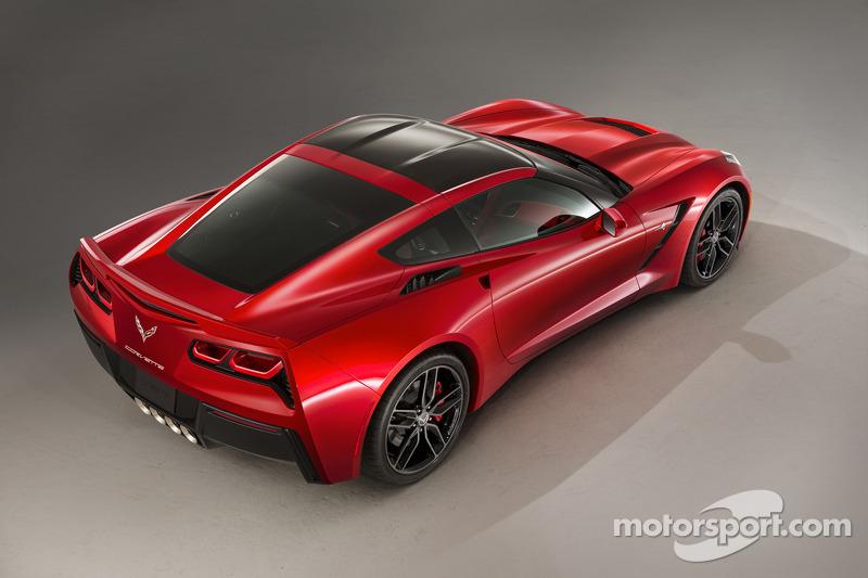 Презентация Chevrolet Corvette Stingray, особое событие.