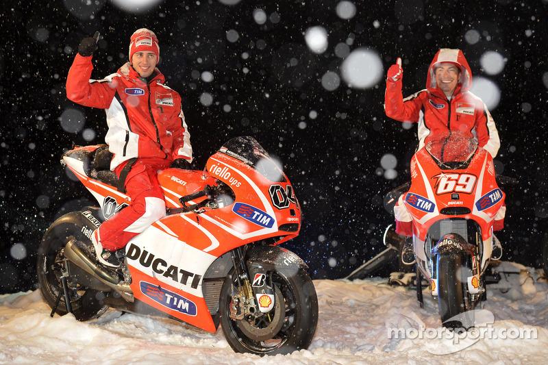 2013. Andrea Dovizioso et Nicky Hayden