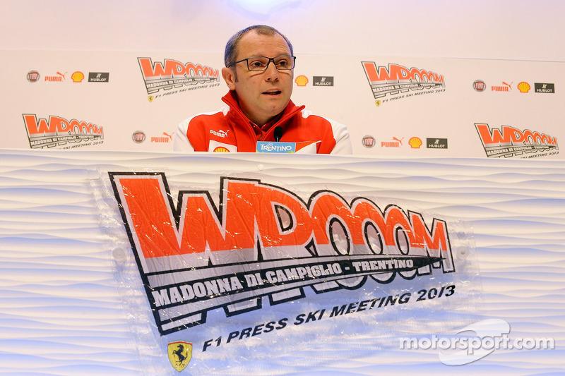 Stefano Domenicali, head of Scuderia Ferrari