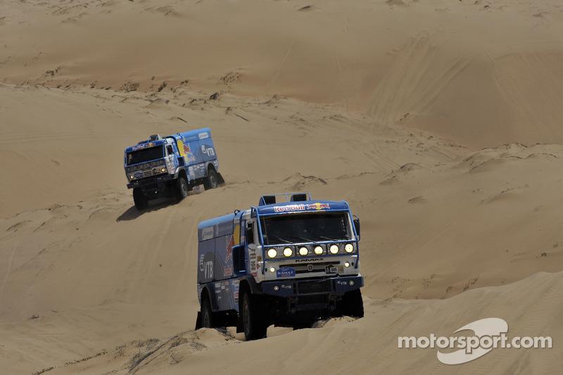 Kamaz truck action