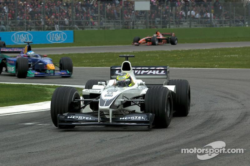 Ральф Шумахер. ГП Сан-Марино, Воскресная гонка.