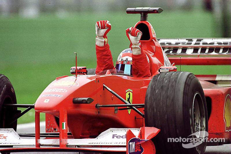 #18: Ferrari F1-2000 (2000)