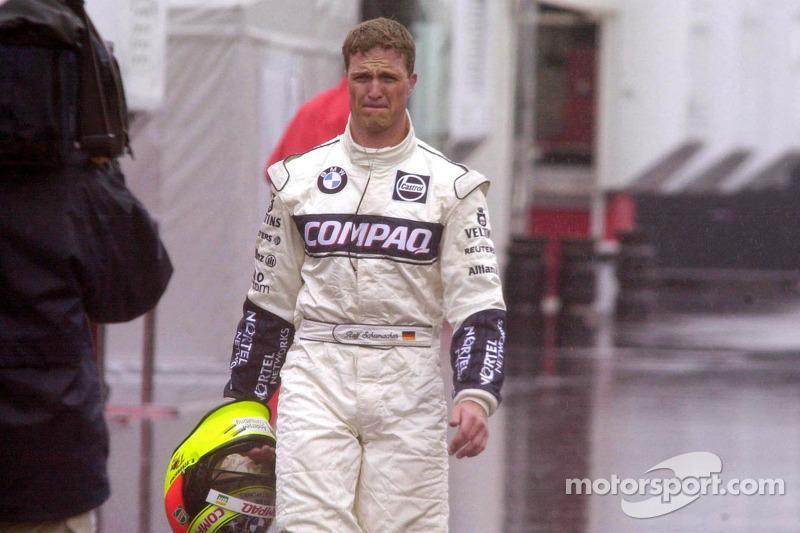 Ральф Шумахер. ГП Европы, Воскресная гонка.