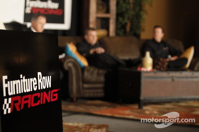 Presentation of Kurt Busch, Furniture Row Racing Chevrolet