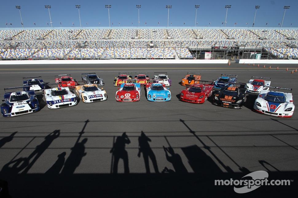 Daytona Prototype group photo