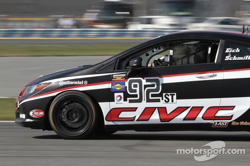92 HART Honda Civic SI Steve Eich John Schmitt