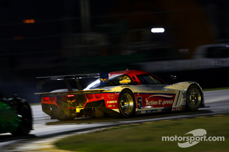#5 Action Express Racing Corvette DP: Christian Fittipaldi, Felipe Nasr, Nelson A. Piquet, Joao Barbosa, Brian Frisselle