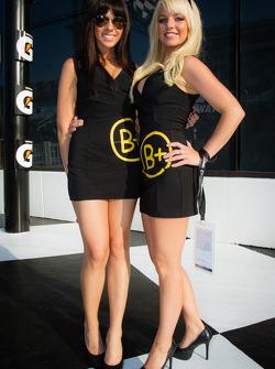 The charming B+ girls
