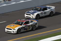 #59 MoonPie Racing Ford Mustang GT: Dean Martin, Roddey Sterling and #43 BTE Sport Mustang Boss 302R GT: Emmanuel Anassis, Alain Desrochers, Anthony Massari