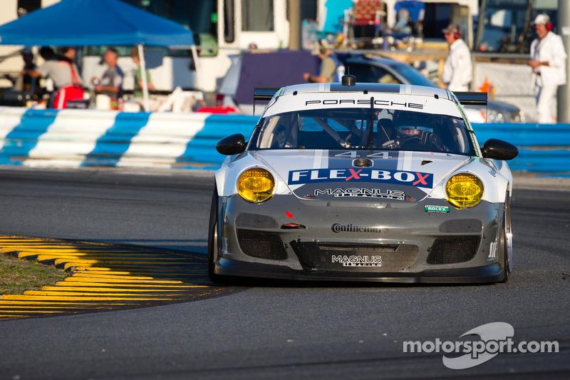 #44 Magnus Racing Porsche GT3: Nicolas Armindo, Andy Lally, Richard Lietz, John Potter