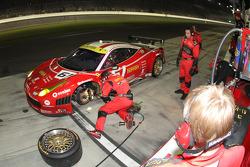 #61 R.Ferri/AIM Motorsport Racing with Ferrari Ferrari 458: Max Papis, Jeff Segal, Toni Vilander, Giancarlo Fisichella