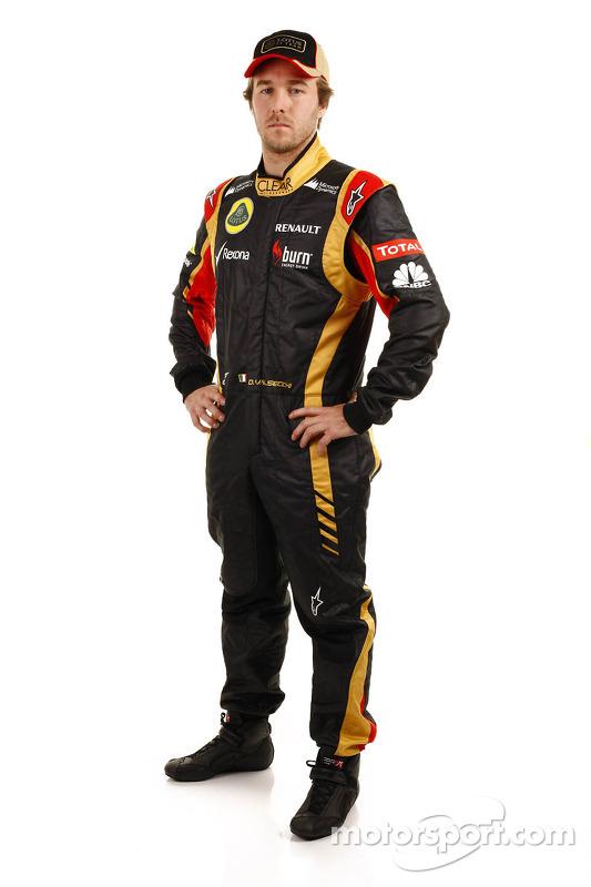 Davide Valsecchi, Testfahrer, Lotus F1 Team