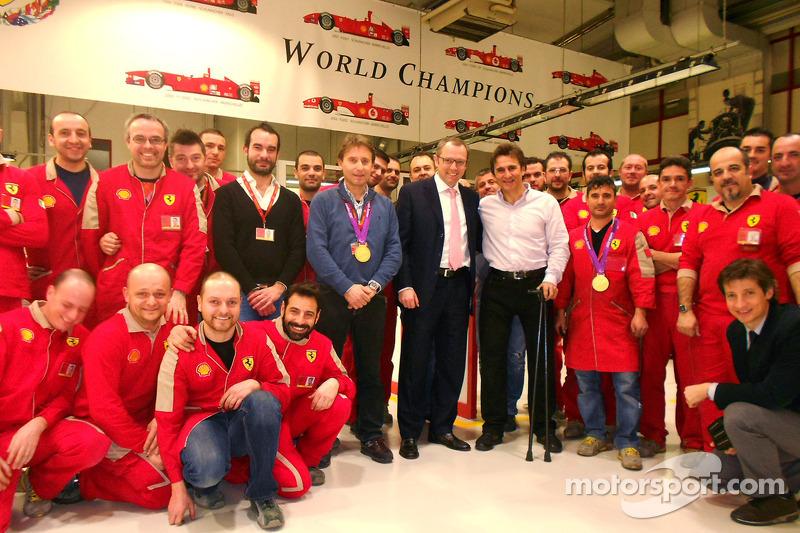 Алекс Дзанарди. Алекс Дзанарди поселит Ferrari, Особое мероприятие.