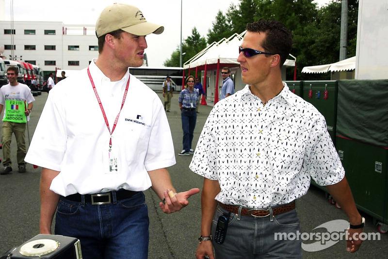 Ralf Schumacher et Michael Schumacher