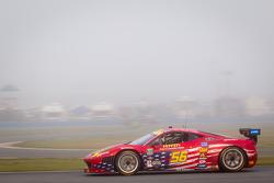 #56 AF - Waltrip Ferrari 458: Rui Aguas, Clint Bowyer, Robert Kauffman, Michael Waltrip