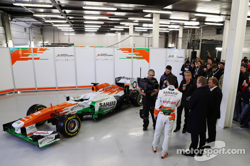 Презентация Sahara Force India VJM06, Презентация.