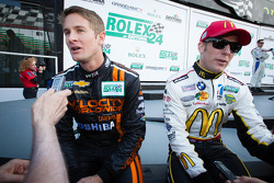 Ryan Hunter-Reay and Jamie McMurray