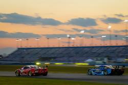 #61 R.Ferri/AIM Motorsport Racing with Ferrari Ferrari 458: Max Papis, Jeff Segal, Toni Vilander, Giancarlo Fisichella, #90 Spirit Of Daytona Corvette DP: Antonio Garcia, Richard Westbrook, Oliver Gavin, Ricky Taylor