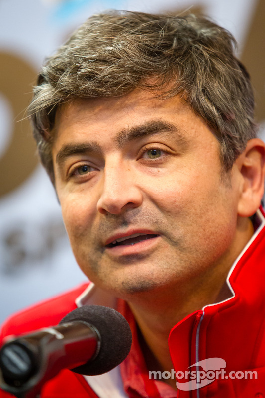 Coletiva: Ferrari North Americas Marco Mattiaci