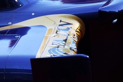 Scuderia Toro Rosso STR8 sidepod detail