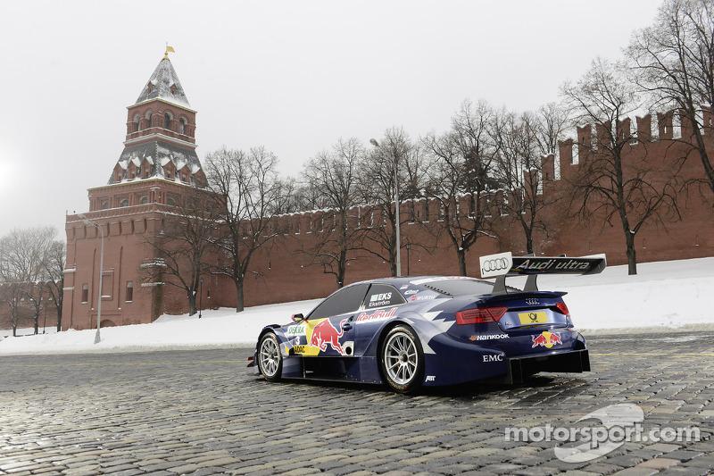 Audi unveils 2013 DTM car