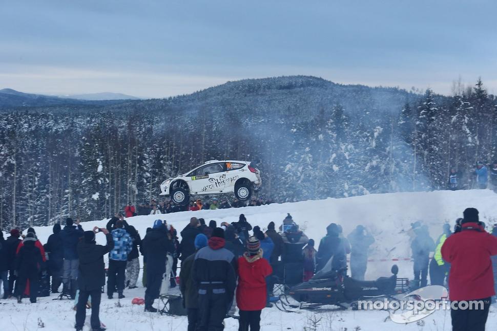 Henning Solberg and Stéphane Prévot, Ford Fiesta RS WRC, M-Sport Ford World Rally Team