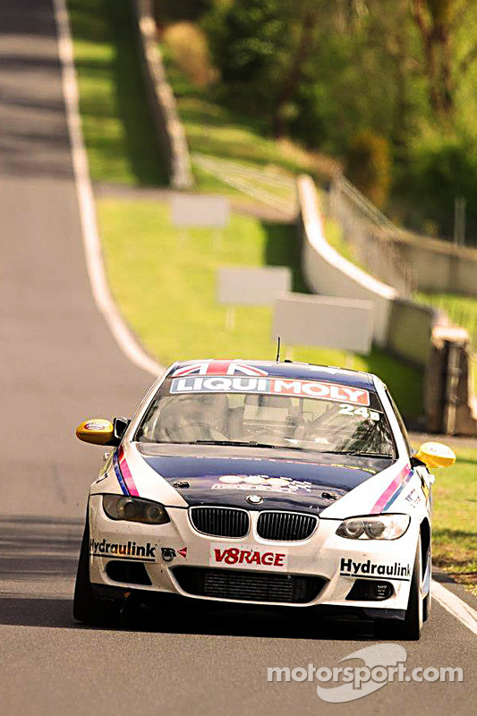 #24 GWS Personnel Motorsport BMW 335i: Peter O'Donnell, Andre Heimgartner, Anthony Gilbertson