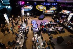 NASCAR Media Day ambiance