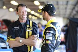 Chad Knaus and Jimmie Johnson, Hendrick Motorsports Chevrolet