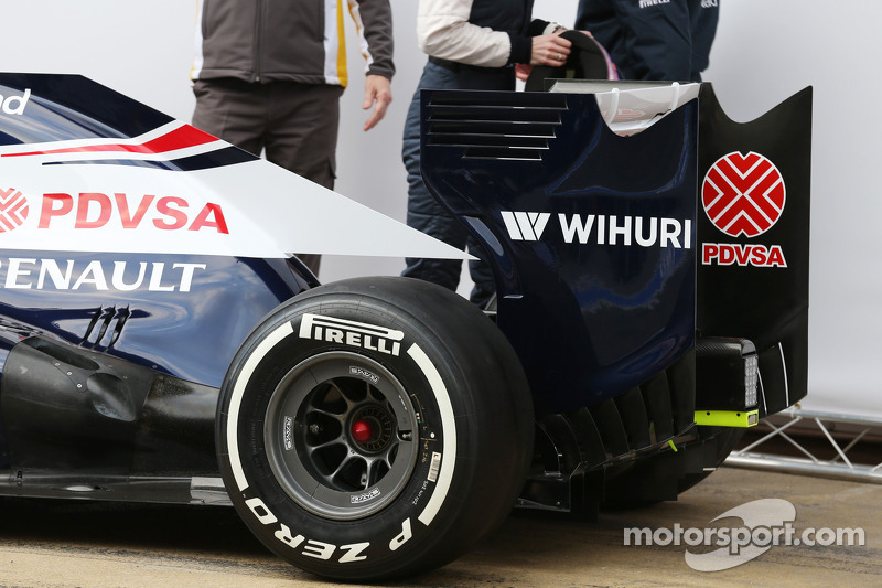 Презентация Williams FW35, Презентация.
