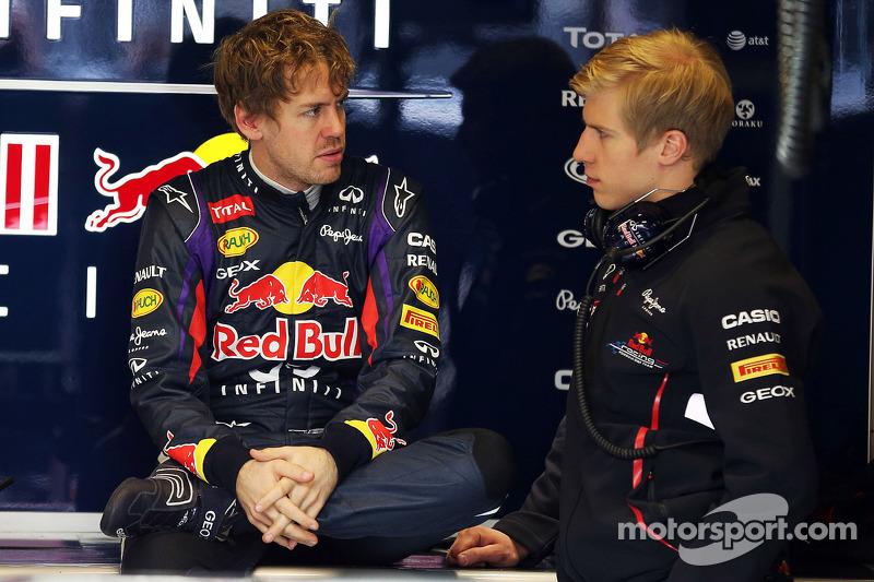 Sebastian Vettel, Red Bull Racing with Heikki Huovinen, Personal Trainer