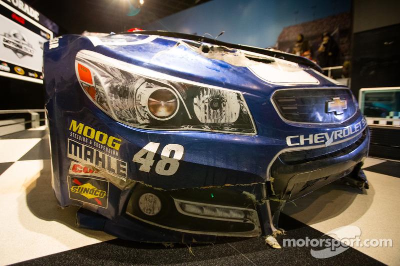 2013 Daytona 500 winnende auto van Jimmie Johnson, Hendrick Motorsports Chevrolet