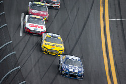 Jimmie Johnson, Hendrick Motorsports Chevrolet, Marcos Ambrose, Richard Petty Motorsports Ford, Greg Biffle, Roush Fenway Racing Ford