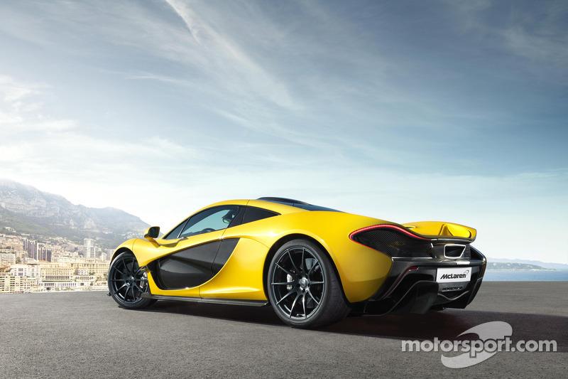 Новые изображения McLaren P1, особое событие.