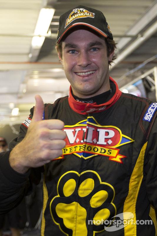 Shane Van Gisbergen, VIP Petfood Racing celebrates pole