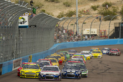 Restart: Dale Earnhardt Jr. leads