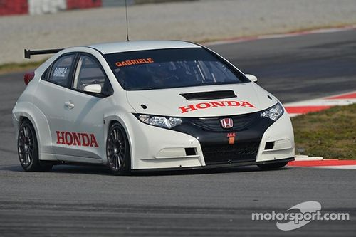 Honda Civic testing