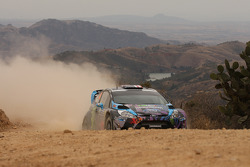 Ken Block and Alex Gelsomino, Ford Fiesta WRC, Monster World Rally Team