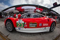 #23 Team West/ AJR/ Boardwalk Ferrari Ferrari F458 Italia: Bill Sweedler, Townsend Bell, Leh Keen