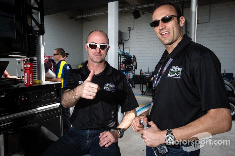 David Brabham en Guy Cosmo