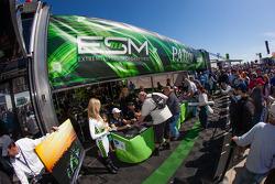 Extreme Speed Motorsports paddock area