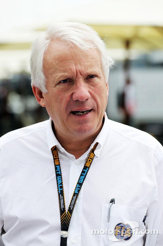 Charlie Whiting, delegado da FIA