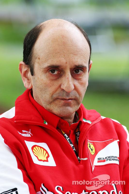 Luca Mamorini, chefe da Ferrari Motor Departamento de Eletrônica