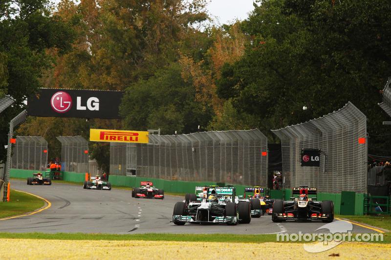 Льюис Хэмилтон. ГП Австралии, Воскресная гонка.